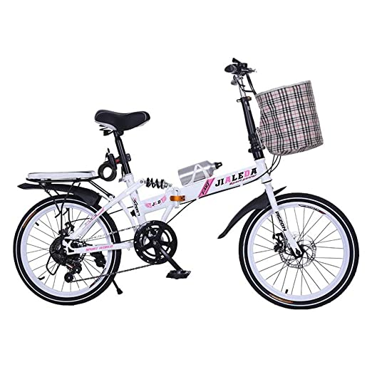 Folding Bikes Bicicleta Plegable para Bicicleta de 20 ...