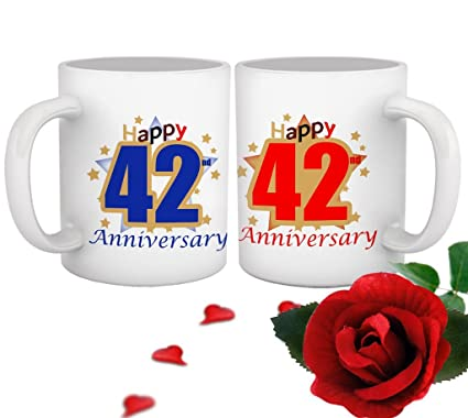 42nd Anniversary Gifts By Year Uk Idea Gallery