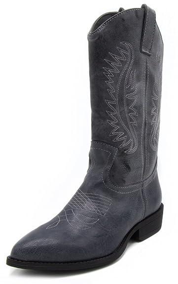 Womens Wamblee Cowboy Western Mid Shaft Boot