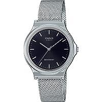 CASIO 中性款成人模拟经典石英手表不锈钢表带 mQ-24M-1EEF