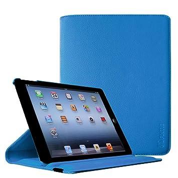 Fintie iPad 4 / 3 / 2 Funda - Giratoria 360 Grados Smart Case Funda Carcasa con Función y Auto-Sueño / Estela para Apple iPad 4 / iPad 3 / iPad 2, ...