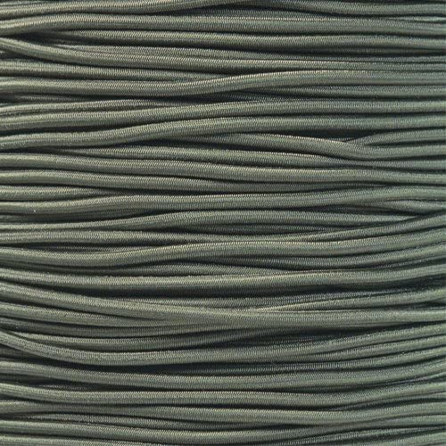 25 50 Made in USA PARACORD PLANET 1//8 Inch Shock Cord in Choose from 10 and 100 Feet
