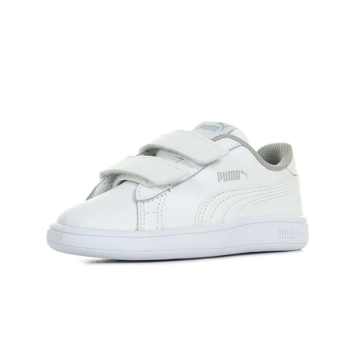 19c81d9696 Puma Unisex Babies' Smash V2 L V Inf Low-Top Sneakers: Amazon.co.uk ...