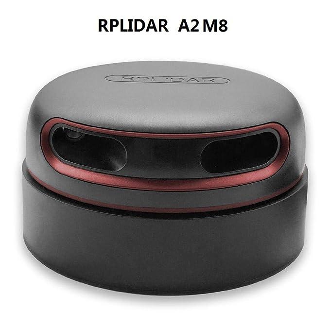 youyeetoo Slamtec RPLIDAR A2 2D 360 Degree - Escáner de Radio (18 m, Sensor LIDAR para Avoidance y navegación AGV UAV)