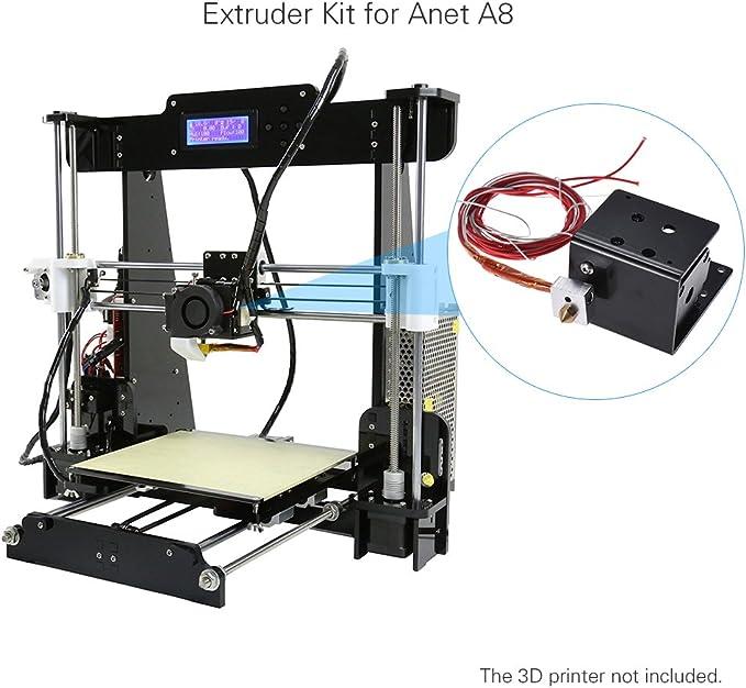 Aibecy 3D Impresora Extrusora Alimentador Alimentador Kit Motor de ...