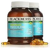 Blackmores 澳佳宝 Omega-3无腥味深海鱼油 400粒/瓶 2瓶 富含DHA、EPA