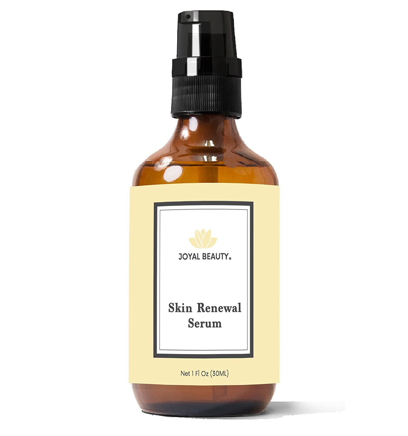 Joyal Beauty Organic Skin Renewal Serum for Face Skin Eyes. Best Intensive Firming Renewing Resurfacing Solution to Get Your Flawless Baby Soft Skin. Enriched with Honey, Royal Jelly, Bee Propolis.1 oz. SRS1