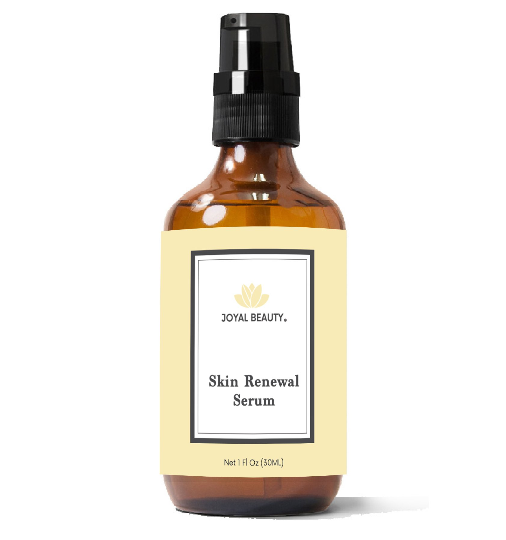 Joyal Beauty Organic Timeless Skin Renewal Serum for Face Skin Eyes. Best Intensive Firming Renewing Resurfacing Solution to Get Your Baby Soft Skin. Enriched with Honey, Royal Jelly, Bee Propolis.