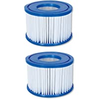 Bestway 58323 Lay-Z-Spa Filter Cartridge, Size VI, Multiple Pack Sizes