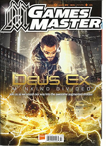 GAME MASTER MAGAZINE, JULY, 2016 GM305 (DEUSEX MANKIND DIVIDED) ()