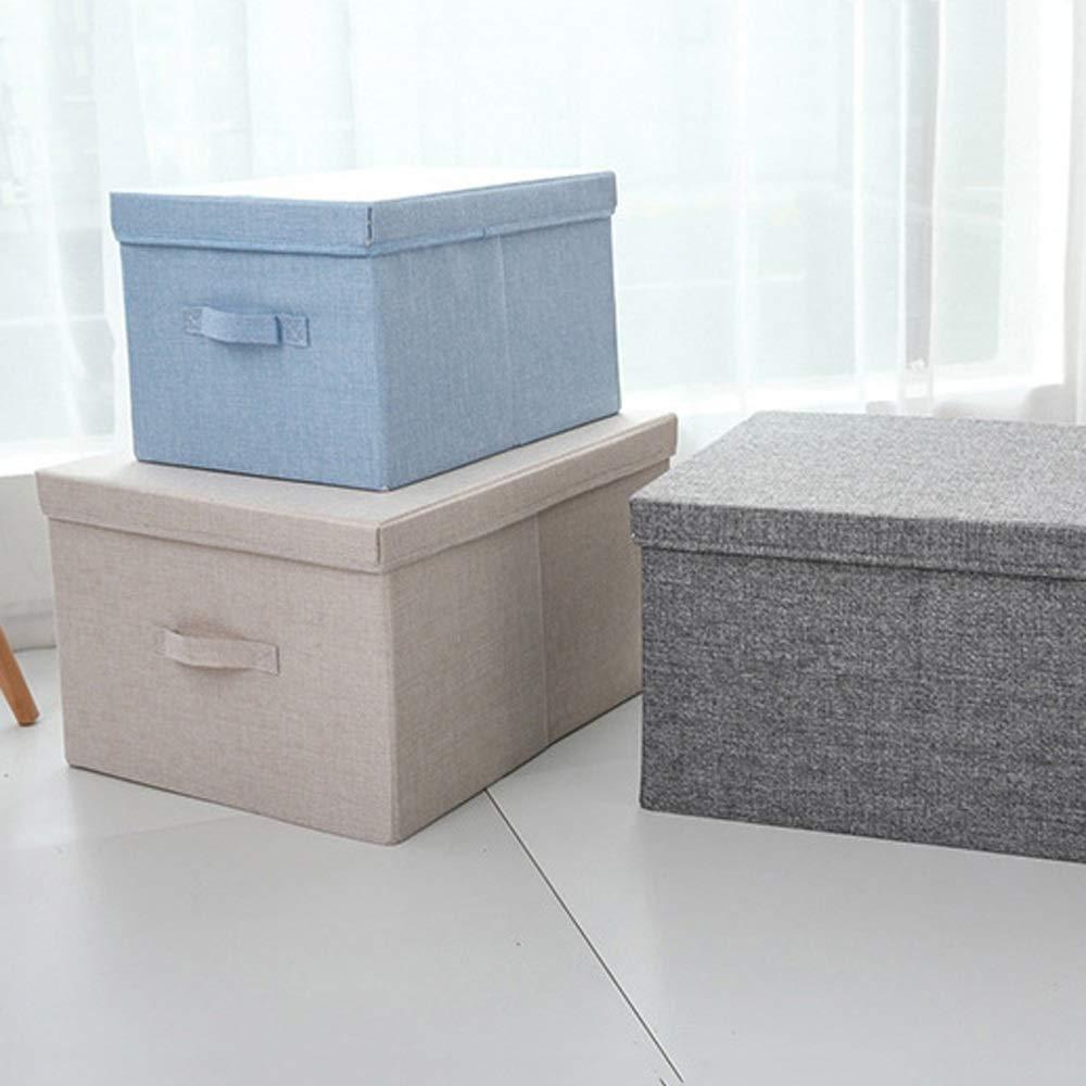 Amazon.com: CHENGGUO - Caja de almacenamiento de algodón y ...