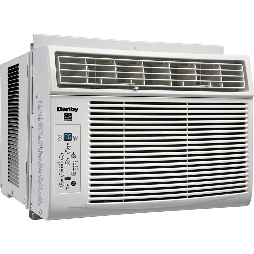 Danby DAC060BGUWDB Heat Pump, 6000 BTU, White