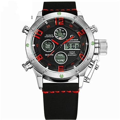 WULIFANG Moda Hombres Relojes Deportivos De La Marca Hot Relojes Digitales Relojes De Cuarzo Militar Don