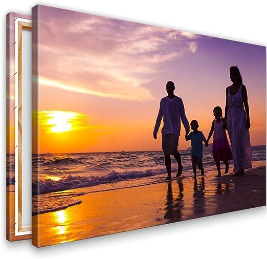 Bild Druck auf Leinwand 95 x 30 cm mit 2cm Keilrahmen Leinwandbild Ihr Foto