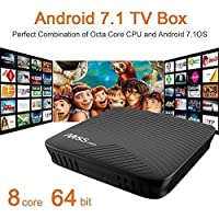 (Update Version)NewPal M8S pro TV box 3G 16G Andriod 7.1 tv box ARM Cortex-A53 CPU up to 2 GHz full loaded stream media player