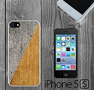 Concrete and Wood Wall Custom made Case/Cover/skin FOR iPhone 5/5s