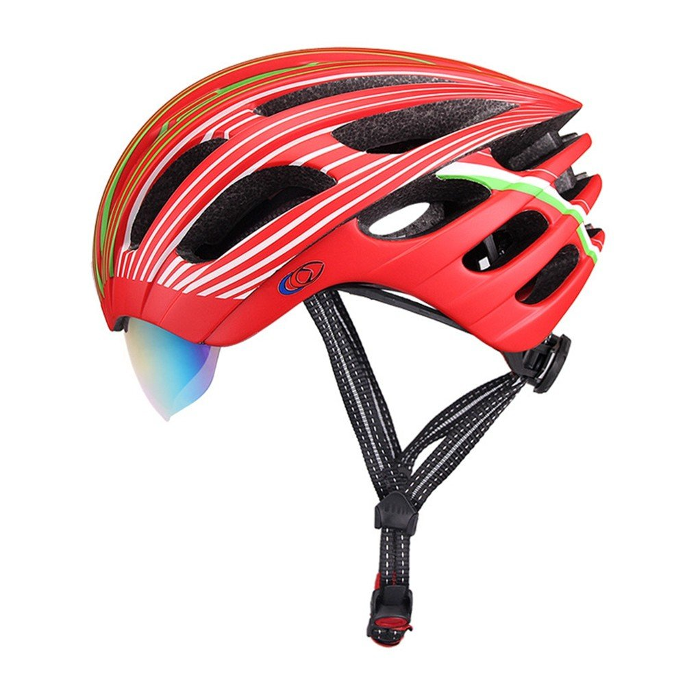 LOLIVEVE Mountainbike Ausrüstung Reiten Helme Fahrräder Männer und Frauen Integrierte Straße Mountainbike Fahrrad Schutzhelm