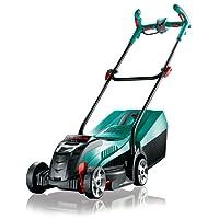 Bosch Tondeuse sans Fil Rotak 32 LI (Batterie, Chargeur, Bac de Ramassage 31 L, Carton, 36V, Largeur/Hauteur de Coupe: 32 Cm/3-6 Cm)