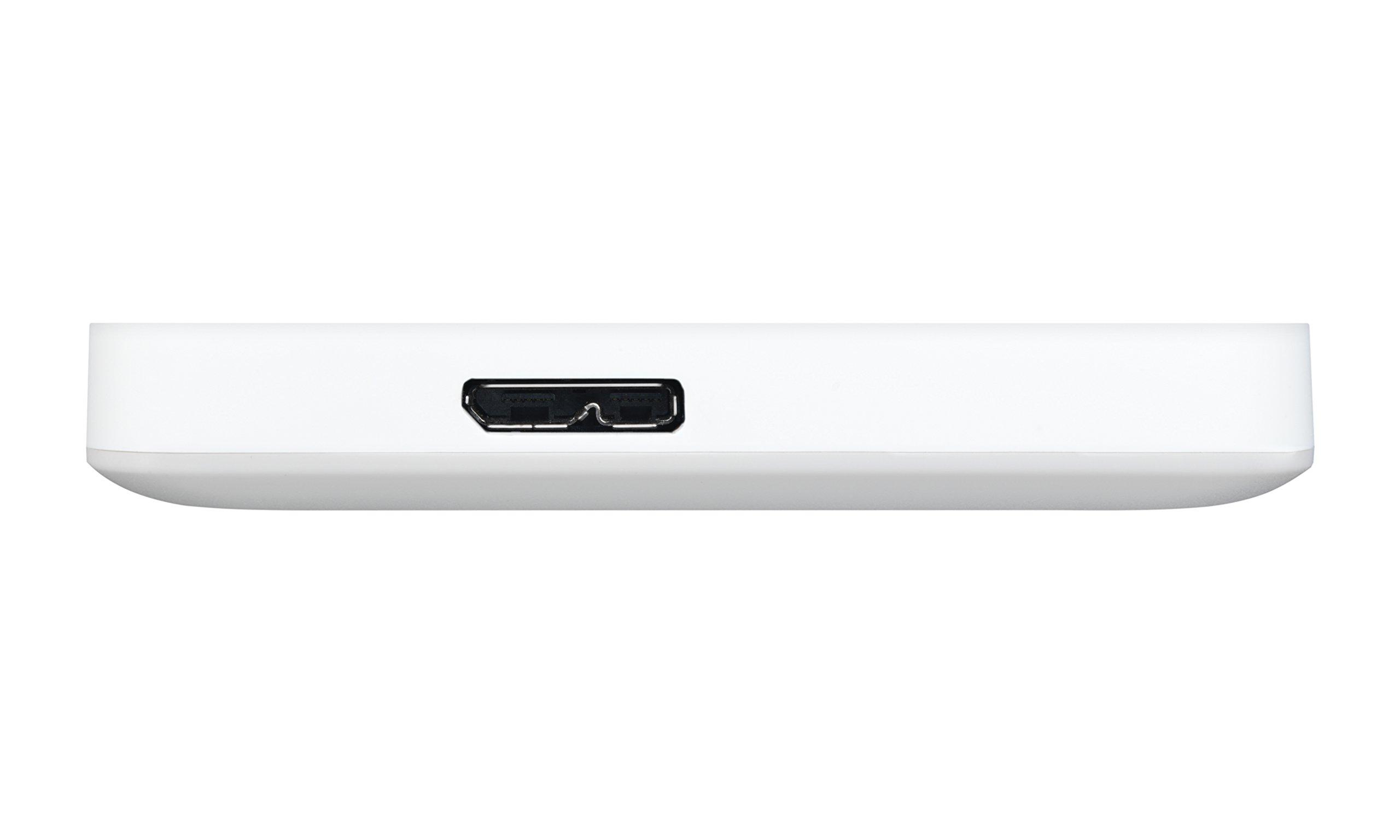 Toshiba Canvio Advance 1TB Portable External Hard Drive USB 3.0, White (HDTC910XW3AA) by Toshiba (Image #5)