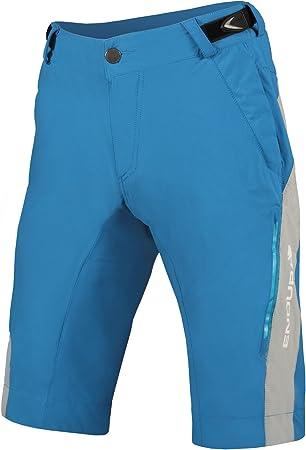 ENDURA - SingleTrack Lite Shorts, Color Azul, Talla S: Amazon ...