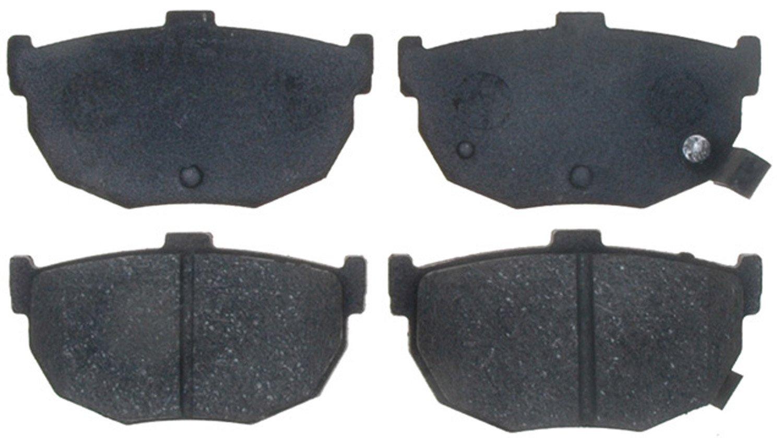 ACDelco 17D323A Professional Organic Rear Disc Brake Pad Set