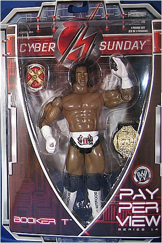BOOKER T - PAY PER VIEW 14 WWE TOY WRESTLING ACTION FIGURE by WWE