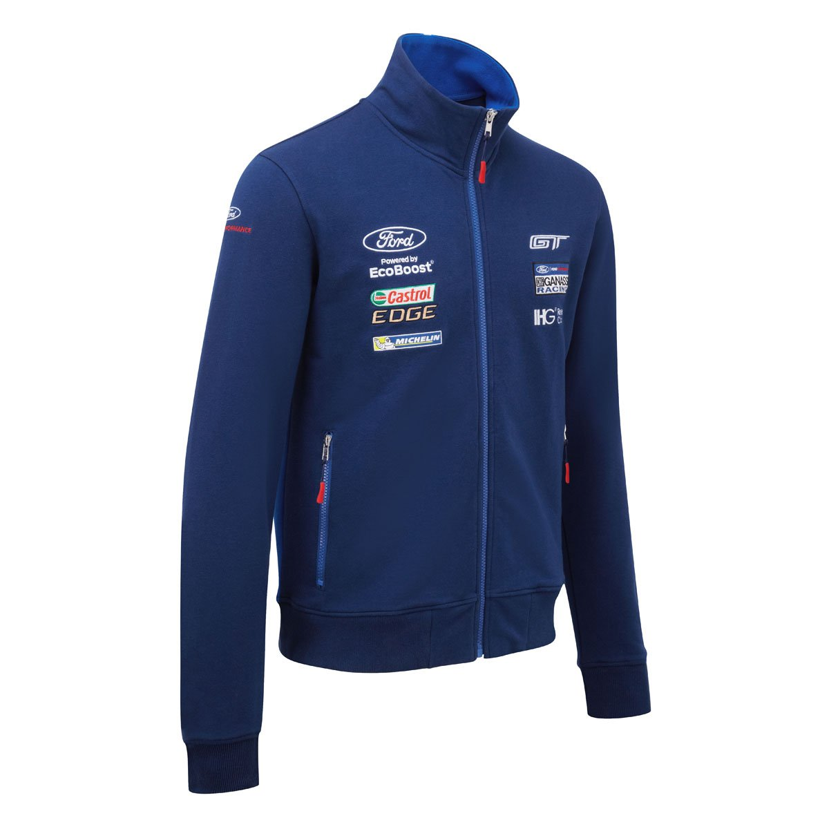 a00875bcdc0616 Ford Motorsport Homme Sweat Pull à Fermeture Éclair Zull WEC Ford GT  Ganassi Racing Team  Amazon.fr  Sports et Loisirs