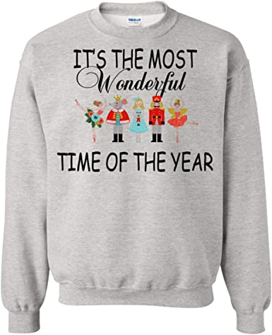 I Love Fall Days Sweatshirts It/'s the Most Wonderful Time of the Year Sweatshirt Fall Sweatshirts for Women Unisex Adult Pullovers