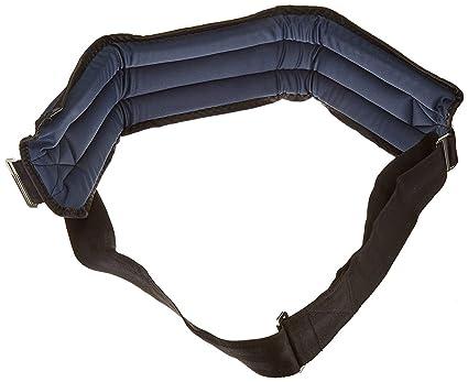 Sammons Preston Rolyan - Cinturón de sujeción para sillas de ruedas (cierre frontal, acolchado