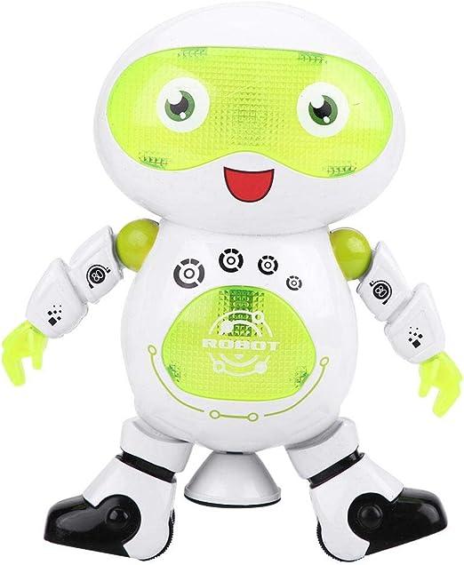 Zouminyy Cool Flashing Lights Music Dancing Robot de Juguete ...
