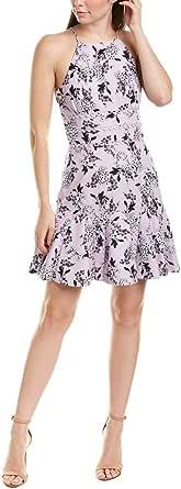 Keepsake the Label Womens 30190570-1 Cherised Sleeveless Fit & Flare Short Mini Dress Sleeveless Dress - Multi