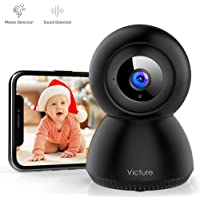 Victure 1080P FHD WiFi Camera with Motion Tracking Sound Detection Wireless 2.4 G WiFi…