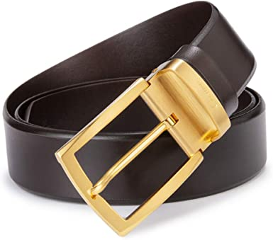 Mens Smooth Belt Buckle Business Casual Belts