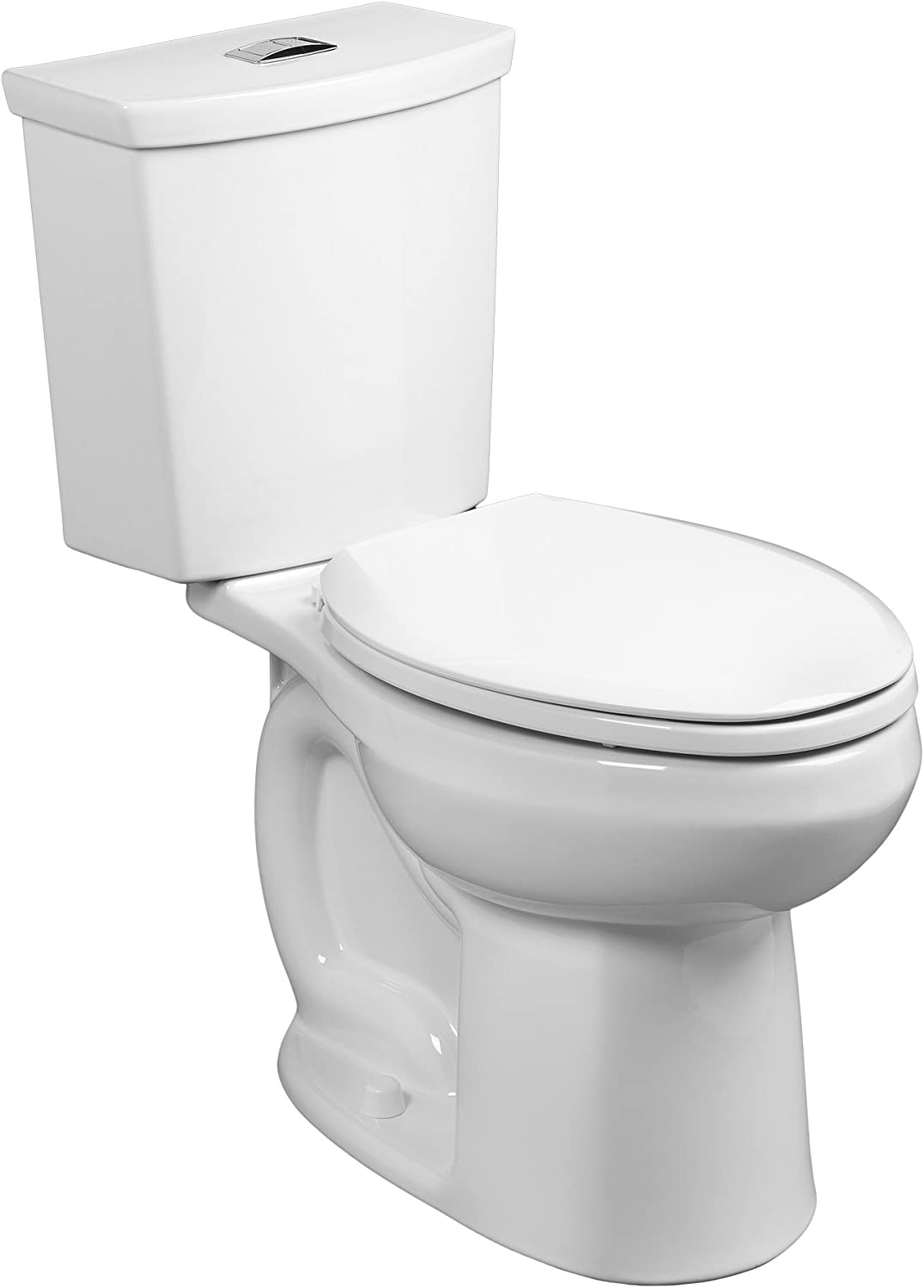 American Standard 2886518 020 H2 Option Siphonic Dual Flush Right Height Elongated Toilet With Liner White 2 Piece Amazon Com
