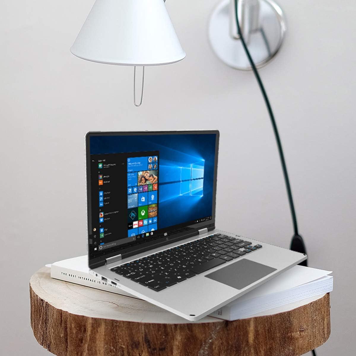 PRIXTON Flex Pro - Ordenador Portátil con Pantalla Táctil de 116 Pulgadas, Sistema Operativo Profesional Windows 10 Pro, Procesador Intel, 4GB RAM / 64GB, Teclado en Español: Amazon.es: Informática