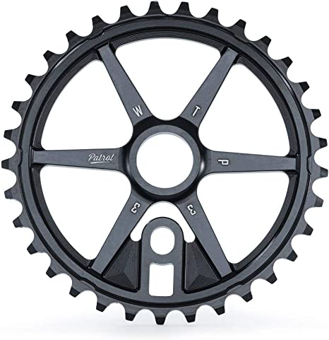 Wethepeople BMX Patrol - Piñón para Bicicleta, Color Negro: Amazon ...