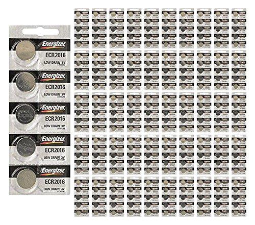 1000x Energizer CR2016 Batteries 3v Lithium Coin Battery Bulk Wholesale FRESH by 21Supply