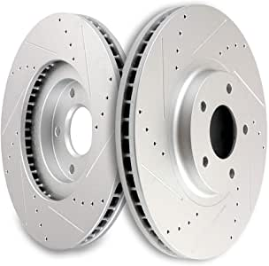 Rear Brake Rotors and Ceramic Pads For G35 G37X G37 M35 M45 350Z MAXIMA MURANO