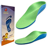 Ailaka Kids Orthotic Cushioning Arch Support Shoe Insoles, Children Pu Foam Inserts for Flat Feet, Plantar Fasciitis…