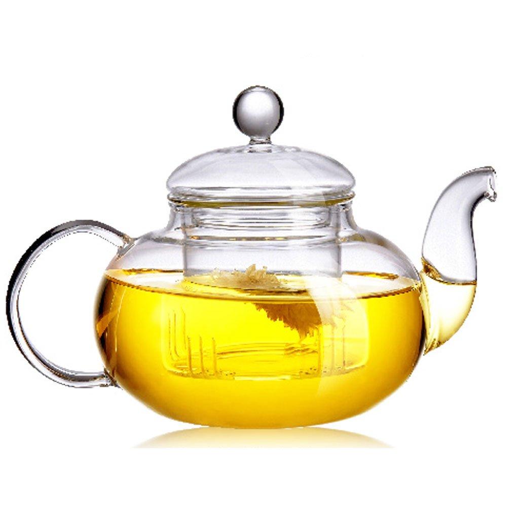 Amazon.com   Beylor Clear Glass Teapot Heat Resistant Teapots 1000 ...