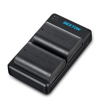 Amazon.com: LP-E6 LP-E6N BESTON LPE6 - Cargador de batería ...
