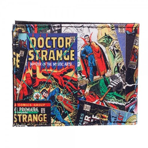 Marvel Comics Doctor Dr. Strange Bi-Fold Wallet at Amazon Mens Clothing store: