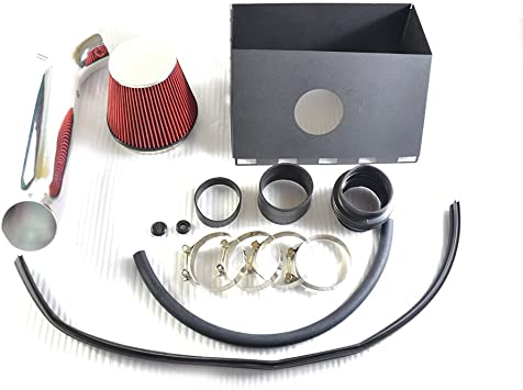 Black 2003-2008 Dodge Ram 1500 Hemi 5.7L V8 Dual Twin Air Intake+Filter Kit