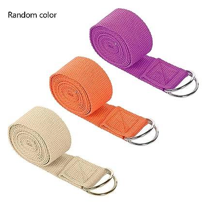 Amazon.com : Sue Supply Yoga Strap Durable Cotton Exercise ...