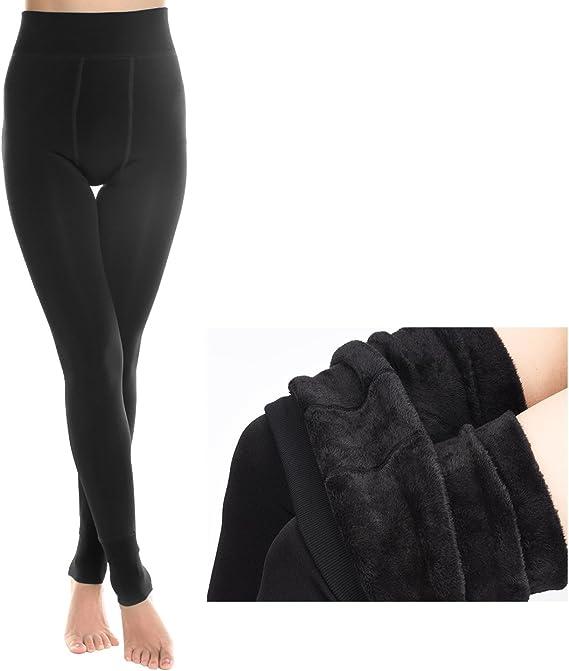 Leggings Mujer para Otoño Frío e Invierno, Pantalones Elásticas ...