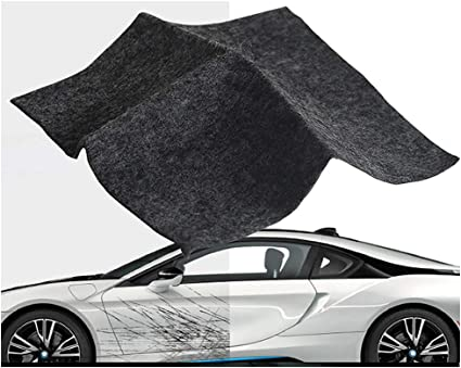 Nano Magic Cloth For Car Scratch Repair Easy to Repair Small and Medium Scratched Bird Droppings Multipurpose Car Scratch Repair Cloth N/&A 4 Pieces Car Scratch Remover Cloth Water Spots
