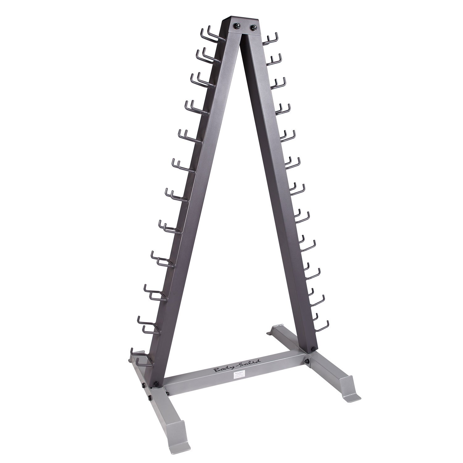 Body Solid Dumbbell Rack Tools 12 Pair Vertical, gdr24: Amazon.es ...