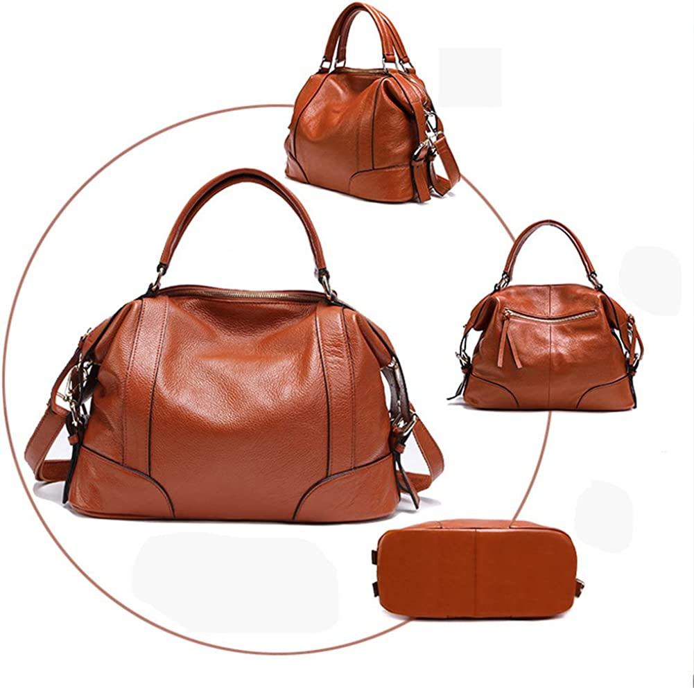 TopZOLREN Handle Bags for Women Large Pu Leather Satchel Handbags Tote Crossbody Bag with Fashion Design Handle