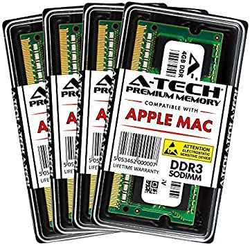 8GB 2x4GB PC3-8500 DDR3-1066MHz Memory for iMac 21.5-inch 3.06GHz Core 2 Duo