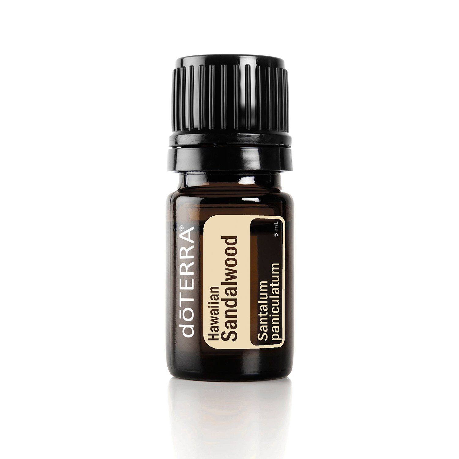 doTERRA - Hawaiian Sandalwood Essential Oil - Promotes Healthy-Looking, Smooth Skin, Enhances Mood, Grounding and Uplifting Properties for Meditation; for Diffusion, Internal, or Topical Use - 5 ml